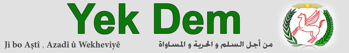 الموقع الرسمي لـ حزب الوحدة الديمقراطي الكردي في سوريا – يكيتي
