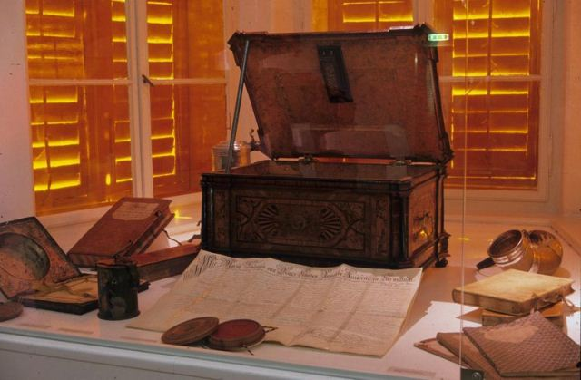 الصناديق التاريخية في المتحف